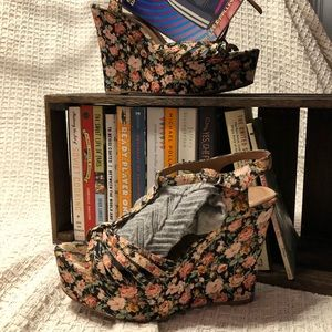 Jeffrey Campbell Swansong Floral Wedges